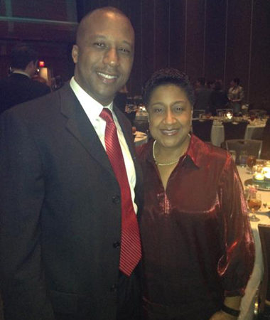 Image of Lonnie Bellamy and Tracey Pinson